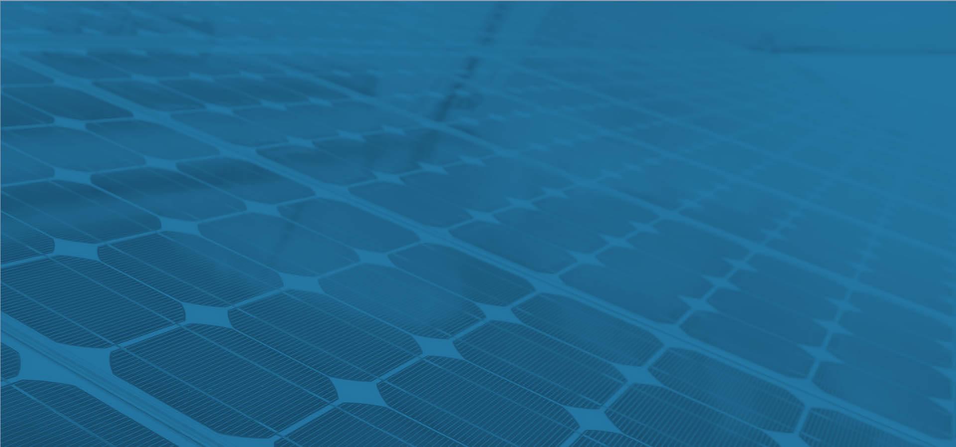 Placa Fotovoltaica energia solar azul